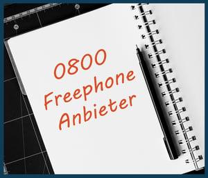 0800 Freephone Anbieter