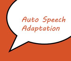 Auto Speech Adaptation-1