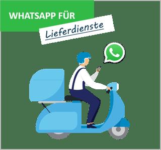 Blog_WhatsApp Lieferdienste