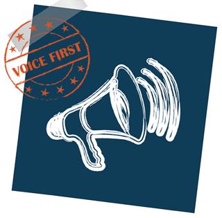 Voice First Grafik